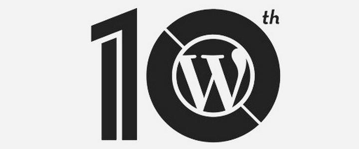 WordPress 10 aniversario