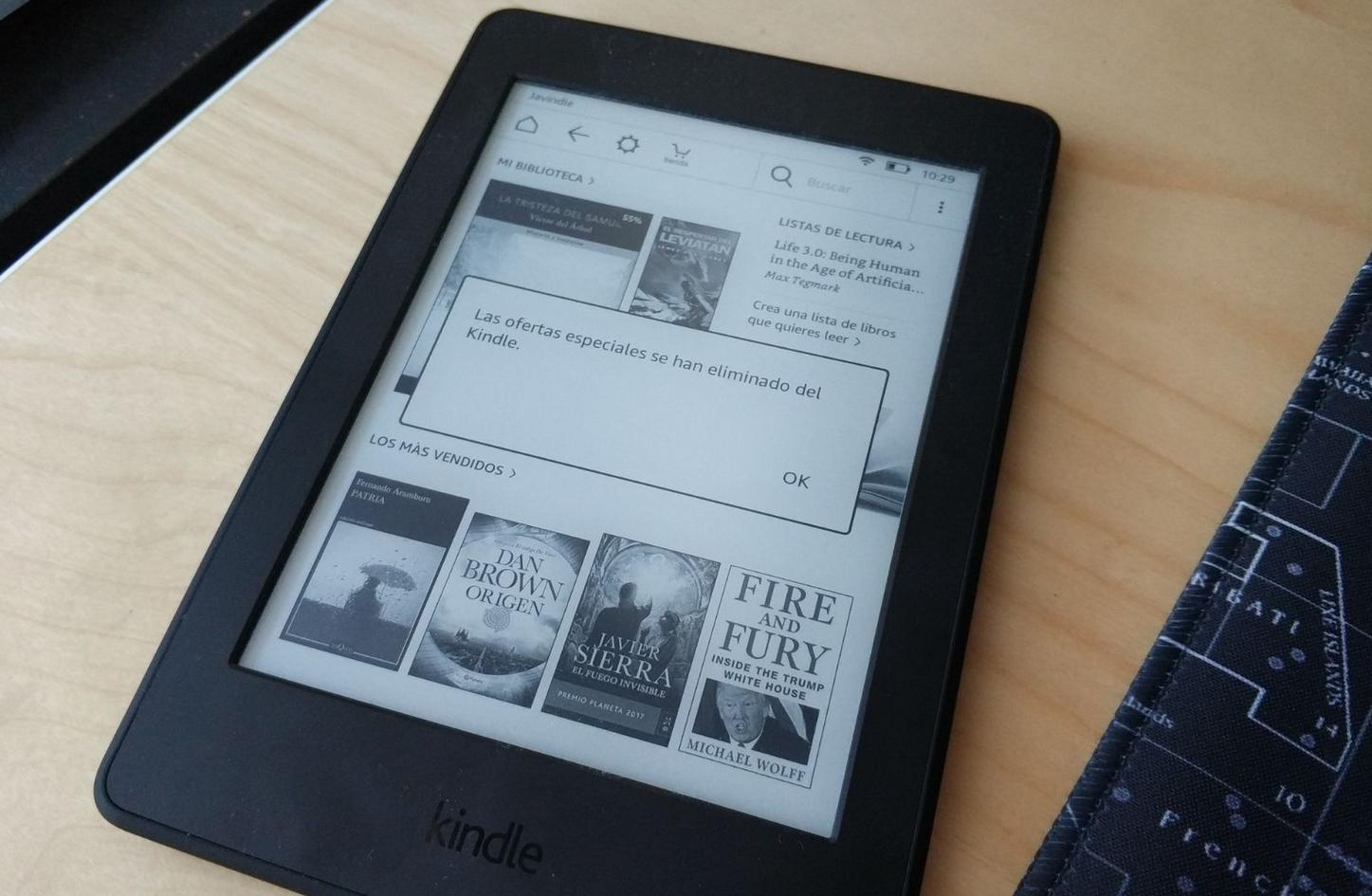 Cómo hacer desaparecer los anuncios en el lector de libros ... 1b6944f75205e
